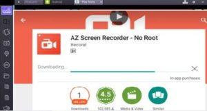 AZ Screen Recorder pro PC