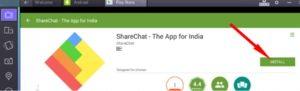 ShareChat pro PC