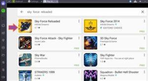 Sky Force Reloaded pro PC