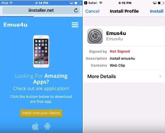 Emus4u-téléchargement-Vidyo iOS sans téléchargement