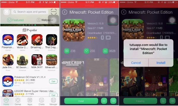 tutuapp-minecraft-pe-download