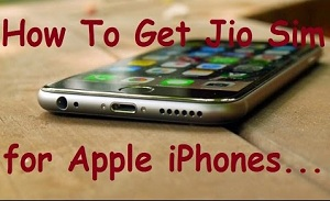 how to get jio sim for iphone