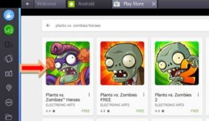 Plants Vs Zombies Heroes per PC