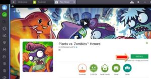 Plants Vs Zombies Helden pro PC