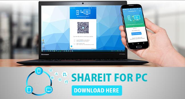 Shareit for PC Download Windows Portable 7/8/10 and Mac OS X