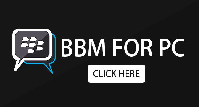 BBM por PC portátil