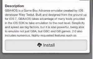 GBA4iOS 2.1 iOS 11