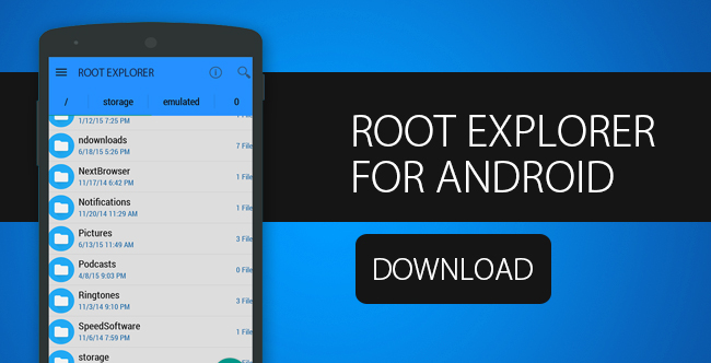 Root Explorer Download APK per Android
