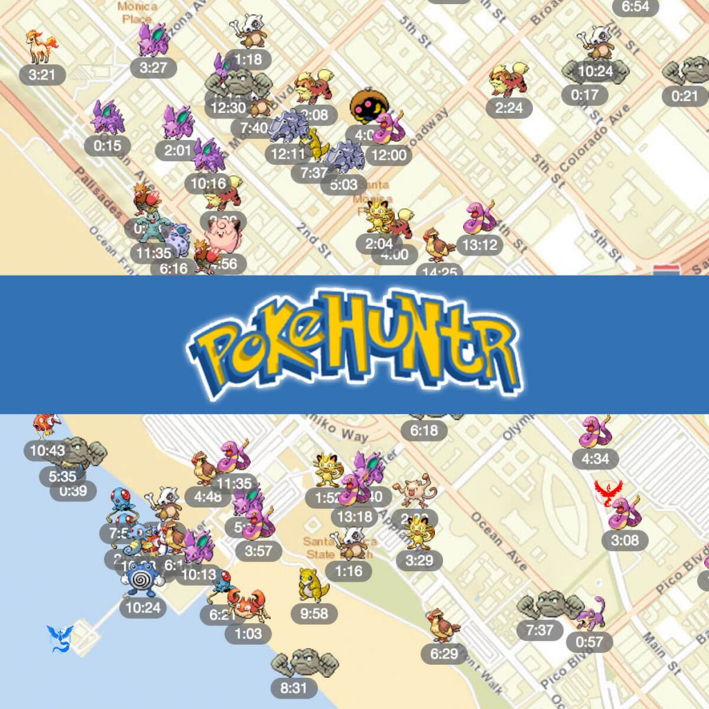 download pokehuntr per iphone e ipad