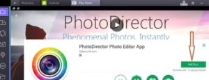 PhotoDirector por PC