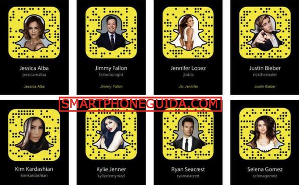 New-celebridade-Snapchat-Usuário-2017