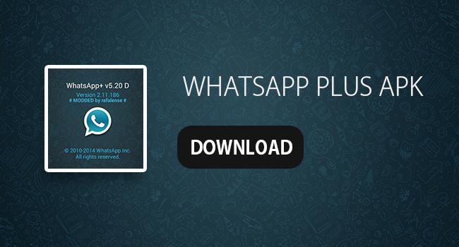 ال WhatsApp زائد APK