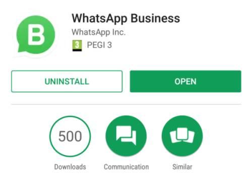 Télécharger WhatsApp pour les entreprises