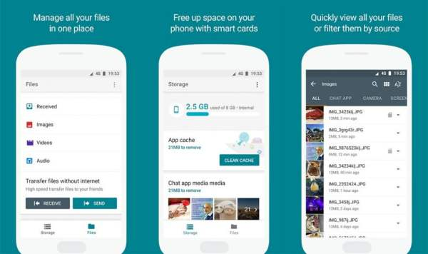 Download Google Datei Go App für Android