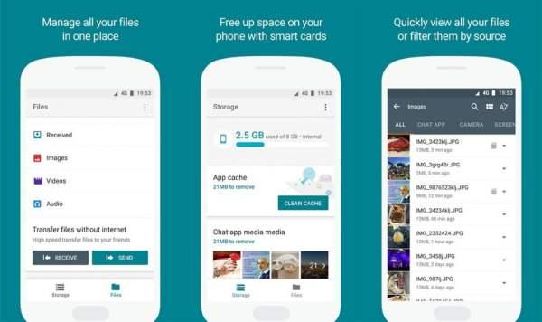 Download Google File Go App per Android