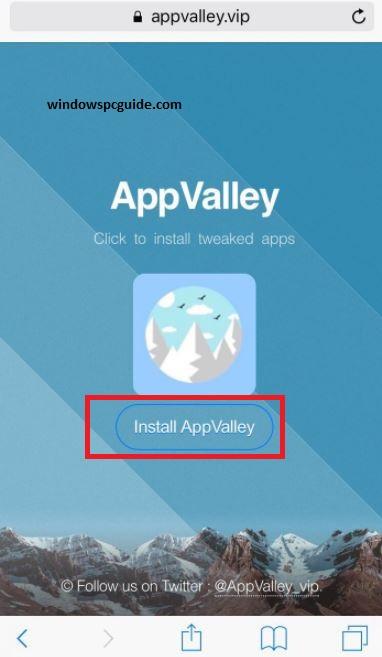 AppValley per iOS 11 2/11 1 en iOS 11/10+ iPhone / iPad