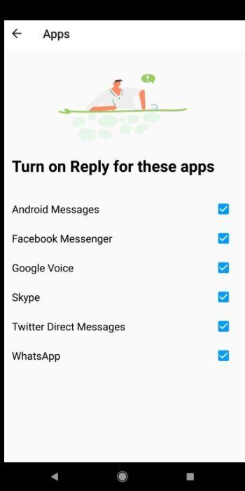 Google App Antwort