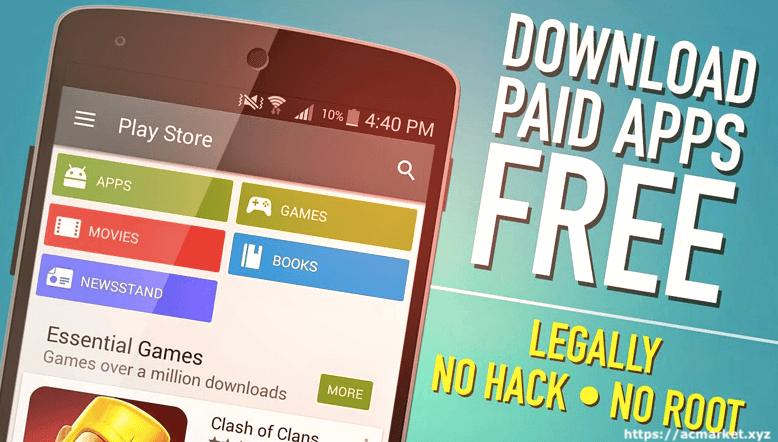 Télécharger le marché AC APK – Cracked Apps Store par