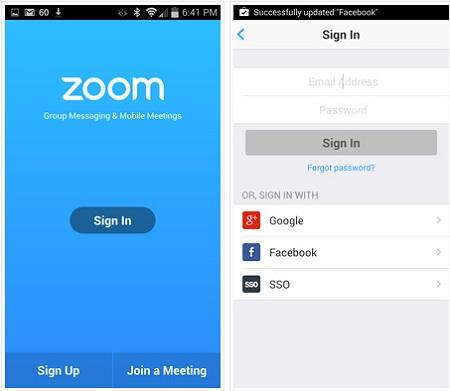 Download de zoom para Windows